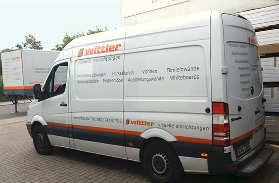 Wittler Hersteller von Vitrinen in Deutschland